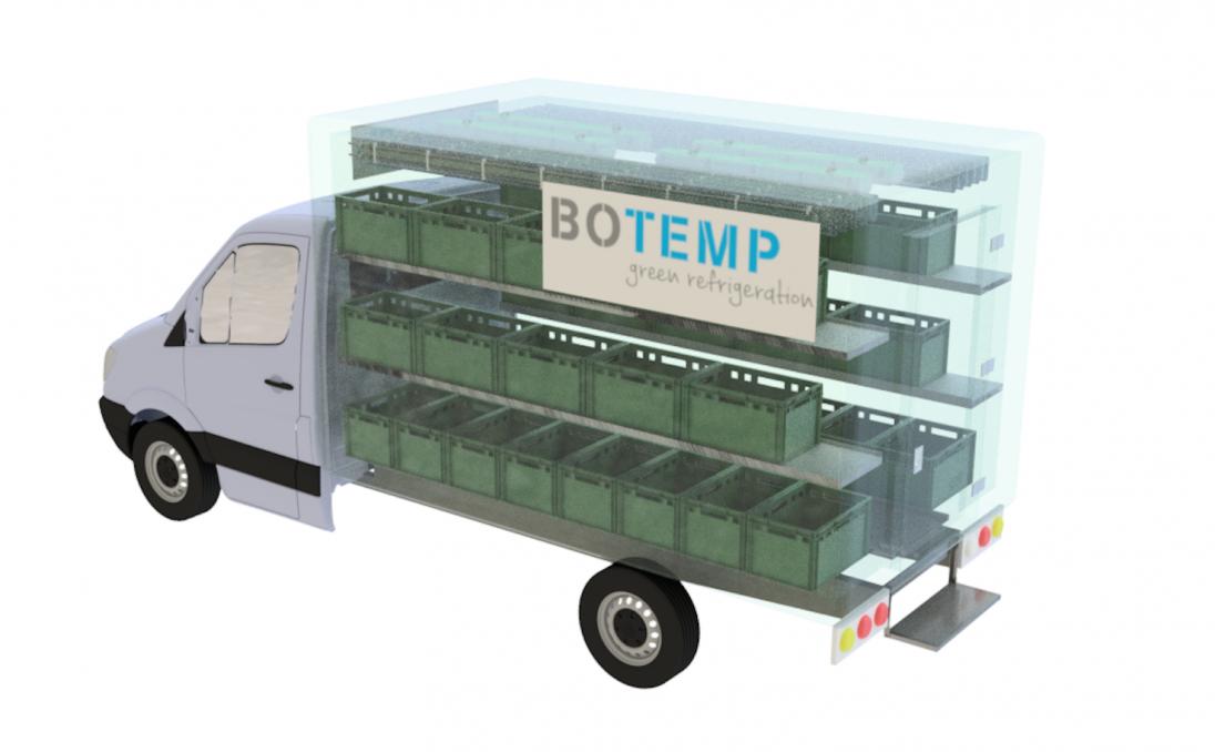 Ontwerp voor prototype voor BoTemp
